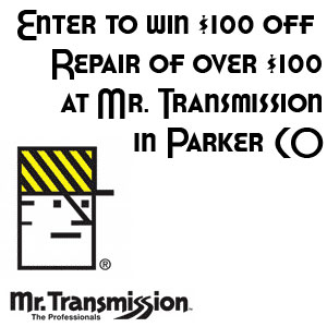 $100 off your next Transmission Repair – Enter to WIN