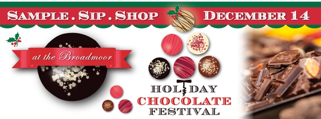 Holiday Chocolate Festival Flyer
